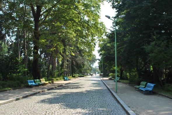The park of Sandanski